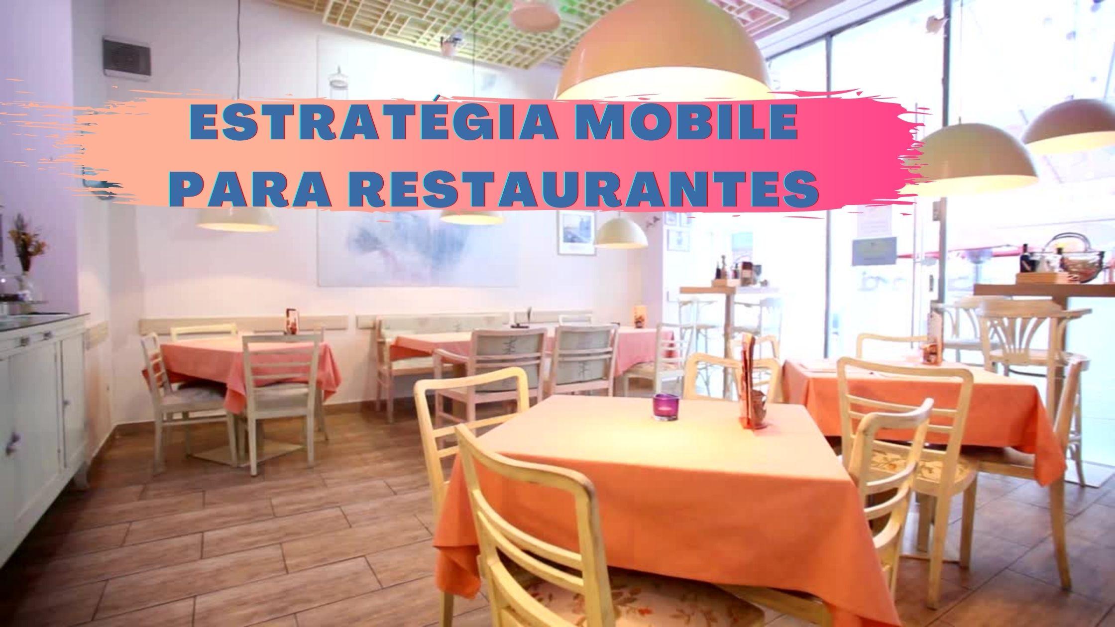 Estratégia Mobile para Restaurantes